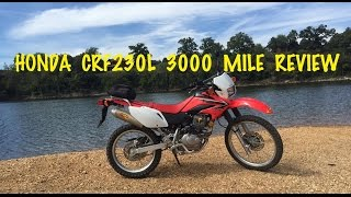 3. HONDA CRF230L 3000 Mile Review - CRF230L VS CRF250L Dual Sport Motorcycle