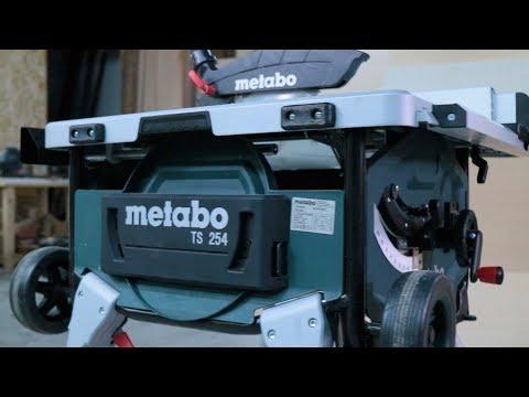 BANCO SEGA METABO TS 254 - Come scegliere un banco sega.