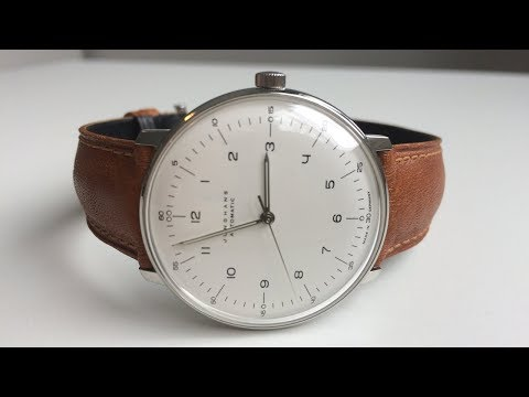 Unboxing - Junghans Max Bill - 027/3502