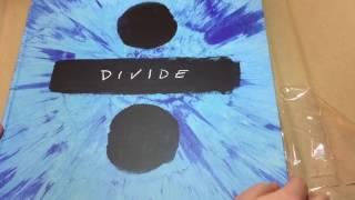 Download Lagu Unboxing Ed Sheeran / DIVIDE deluxe boxset Mp3