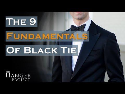Black Tie Dress Code   9 Fundamentals For A Black Tie Event