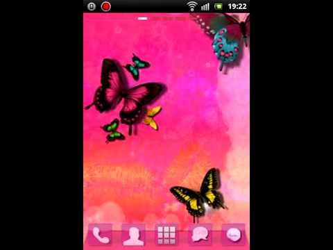 Video of GO Launcher EX Theme Pink Cute
