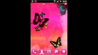 GO Launcher EX Theme Pink Cute YouTube video