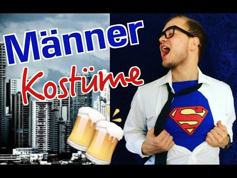 DIY KARNEVAL KOSTÜM IDEEN FÜR MÄNNER // Kostüme für ihn 2017