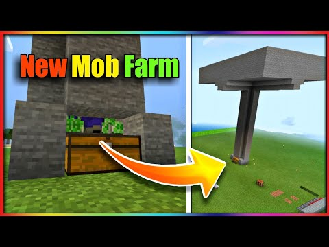 I made a mob farm for gunpowder and building a new house ||