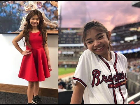 Angelica Hale New 10/8/18 Hd National Anthem Braves Vs. Dodgers Mlb Playoffs Full Version