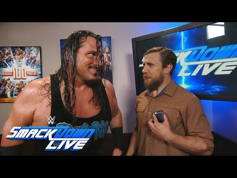 Rhyno uses a Gore to say hello to Heath Slater: SmackDown Live, Aug. 2, 2016