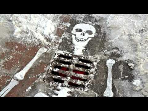 street art cold as ice