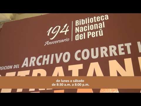 Retratando Lima: Exposición del Archivo Courret Hnos. (1863-1935)