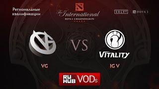 VG vs iG.V, game 1