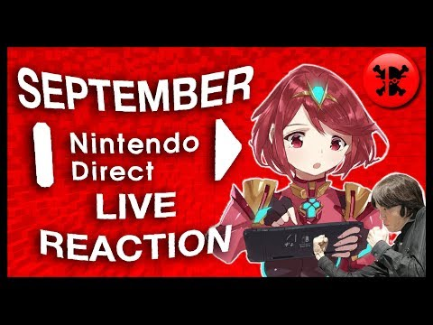 FULL LIVE REACTION to Nintendo Direct 9.13.2018   RogersBase Nintendo Direct Reaction (видео)