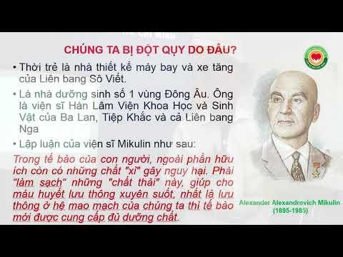 """Bài giảng """"THẬP CHỈ LIÊN TÂM - liệu pháp Y mao mạch"""" - giảng viên Dư Quang Châu"""