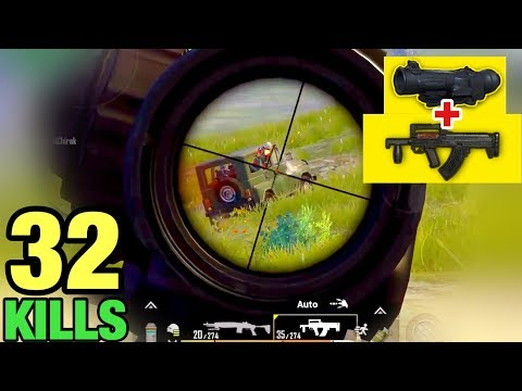 CHALLENGE - GROZA + FULL 6x SCOPE | 32 KILLS SOLO VS SQUAD | PUBG MOBILE