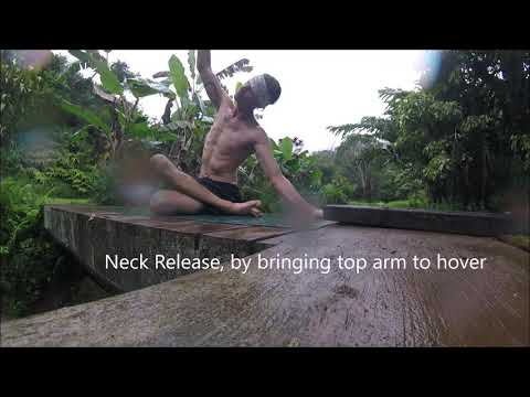 Gyoga Tutorial from the Bridge in Maui - Side bend, Neck Release, 1/2 Sun Salutation, Breath of Fire