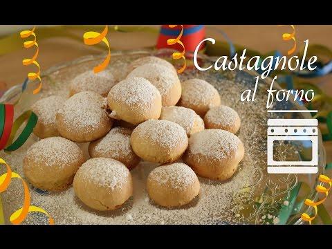 castagnole al forno - ricetta