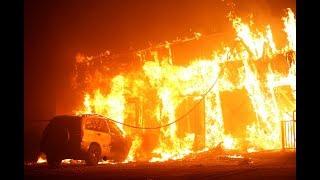 Video Residents flee 'catastrophic' wildfire in Northern California MP3, 3GP, MP4, WEBM, AVI, FLV November 2018