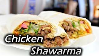 Easy Chicken Shawarma at home | Homemade shawarma