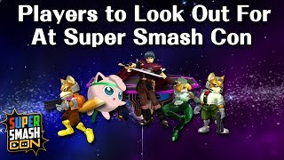 Players to Look Out For at Super Smash Con