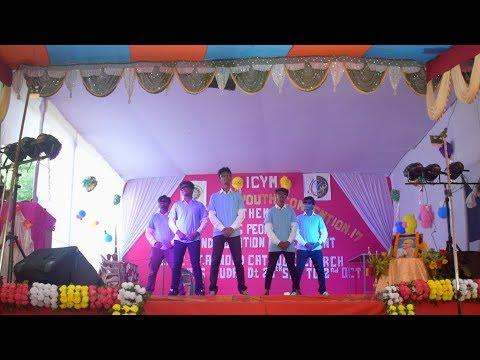 EDM, Bollywood, Nagpuri and Chhattisgarhi Mix dance by H Square at ICYM Convention Jharsuguda 2017