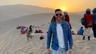 In a Chinese desert
