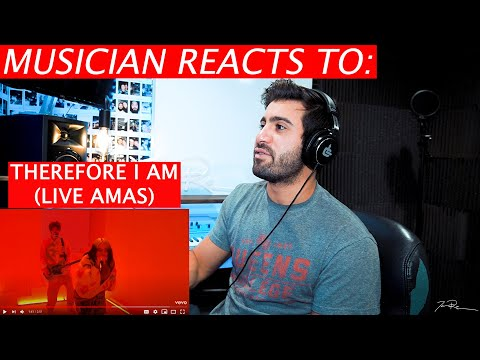 Billie Eilish - Therefore I Am - (Live AMAs 2020) - Musician Reaction