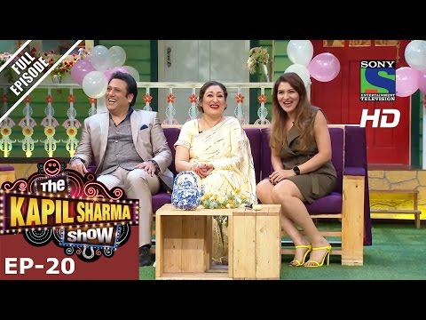 The Kapil Sharma Show - दी कपिल शर्मा शो–Episode 20-Govinda in Kapil's Mohalla–26th June 2016 (видео)