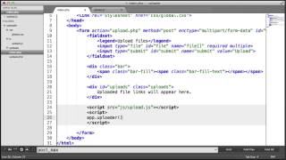 Multiple File AJAX Upload: JavaScript (Part 8/10)