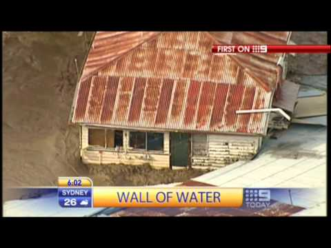 australia tsunami - Queensland Australia - over 200000 affected by record rainfalls and flooding. The title of this video was coined from the headlines listed from the news sit...