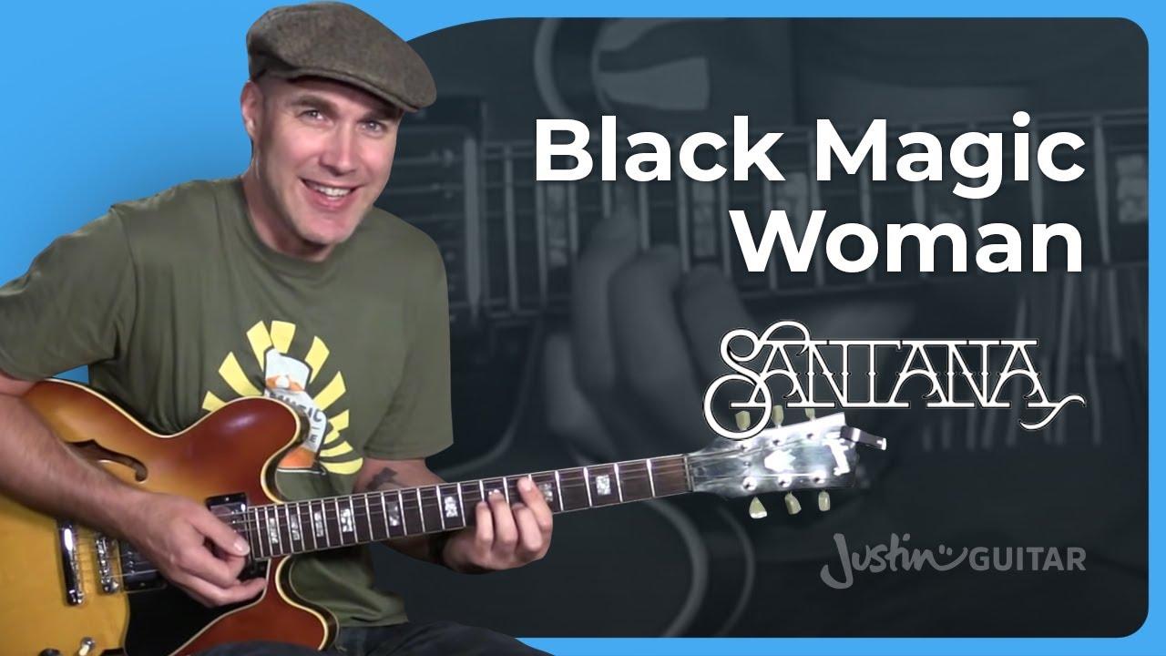 Fleetwood Mac / Santana – Black Magic Woman [RHYTHM] Guitar Lesson Tutorial – JustinGuitar