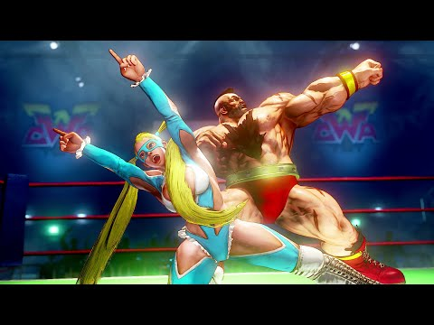 Street Fighter 5 : extension de l'histoire