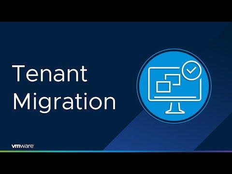 vRealize 8.3 – Tenant Migration