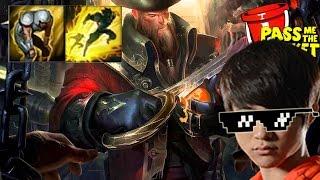 Full game Faker cầm Gangplank vs Azir MID
