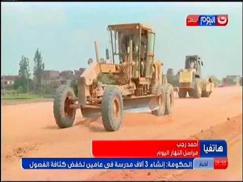 وزير النقل يتفقد طريق شبرا - بنها الزراعى ويشدد على سرعة الإنتهاء