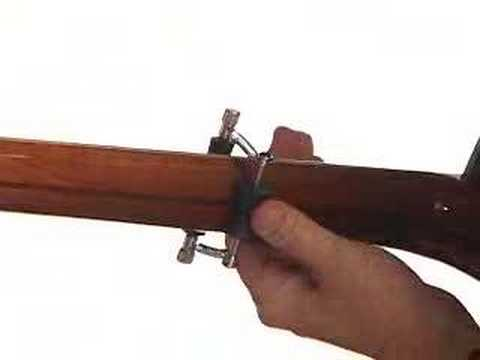 Glider Capo - Acoustic Guitar Capo Demo