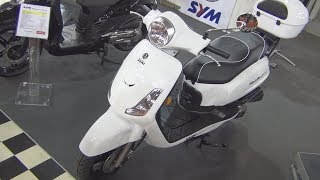 2. SYM Fiddle II 50 Exterior and Interior