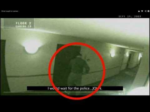 video shock: fantasma terrorizza la security!