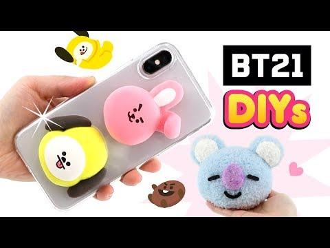 BTS DIYs für K-POP ARMY!!! Koya Cooky von BT21 Geschenke basteln! Kawaii für Mädchen! Deutsch (видео)
