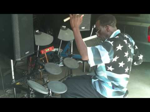 Aaron Purdie on the Electronic Kit
