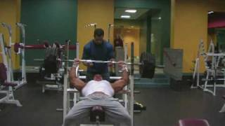 Stan Efferding 500 pound incline bench press raw 2+ reps