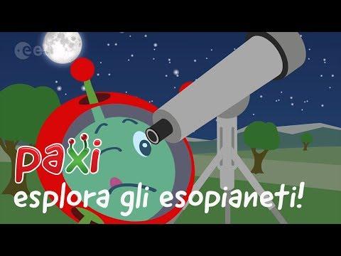Paxi esplora gli esopianeti!