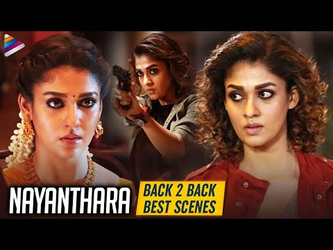 Nayanthara B2B Best Scenes   Anjali CBI   Sri Rama Rajyam   Boss   Nayanthara   Telugu FilmNagar