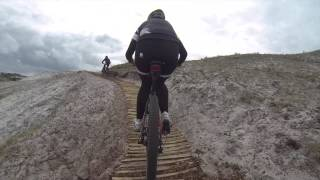 Schoorl Netherlands  City new picture : Mountainbike / MTB route Schoorl ( GoPro HD Hero, Specialized)