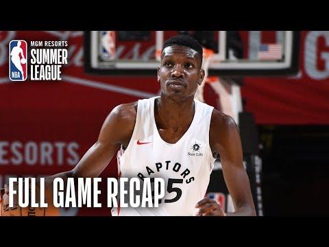 Video: KNICKS vs RAPTORS | Chris Boucher Leads TOR Past NYK | MGM Resorts NBA Summer League