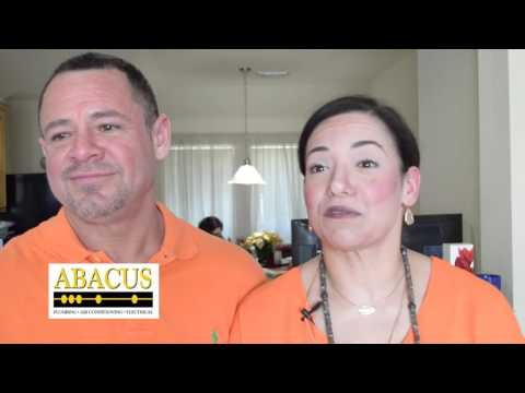 Abacus Plumbing Review – Manny & Lorena A – Missouri City, TX