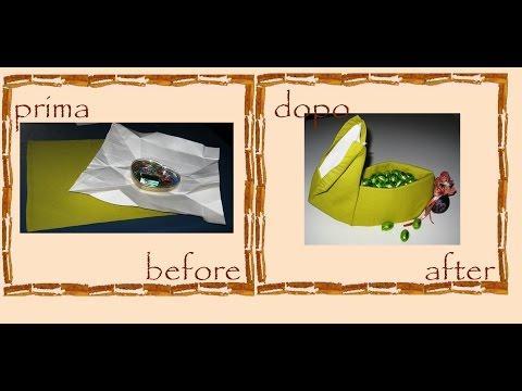 coniglietto pasquale - origami di stoffa