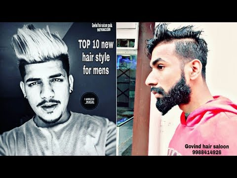 Mens hairstyles - Top 10 new hairstyles for men's 2018/2019 men's haircuts trend!  new hair style