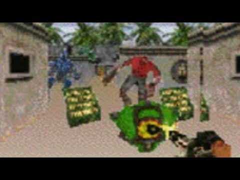 Serious Sam for Palm OS Gameplay
