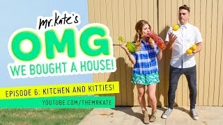 Download Youtube: Kitchen and Kitties! | OMG We Bought A House!