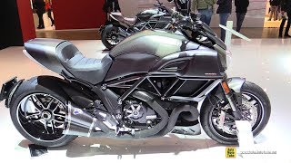 10. 2018 Ducati Diavel Carbon - Walkaround - 2017 EICMA Milan Motorcycle Exhibition