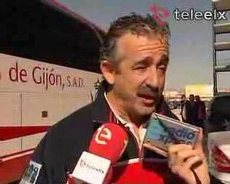Manolo Preciado habla sobre el Sporting de Gijón